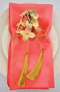 Wedding Linens Inc. 10 pcs Satin 20