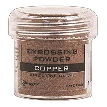 Ranger Embossing Powder 0.5-Ounce Jar Super Fine Copper