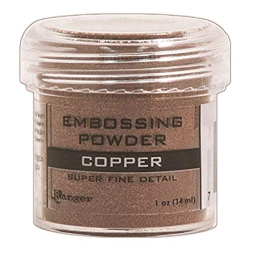 Ranger Embossing Powder, 0.5-Ounce Jar, Super Fine Copper