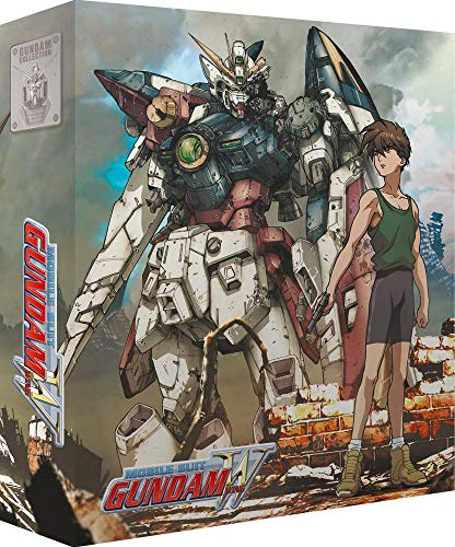 Mobile Suit Gundam Wing Partie 1/2 Bluray [Édition Collector]