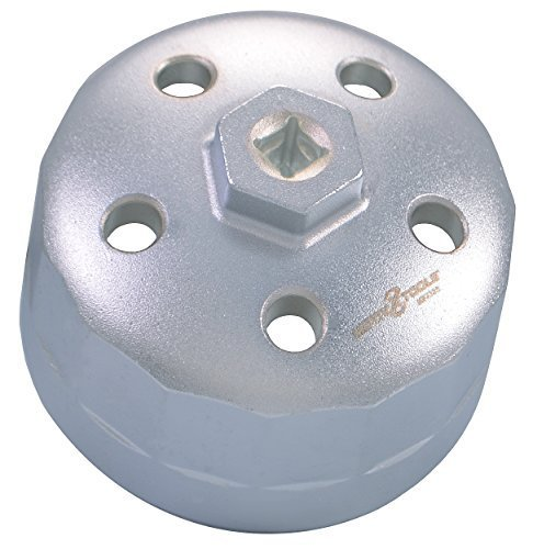 Motivx Tools 90mm 15 Flute Oil Filter Wrench for Land Rover & Jaguar - Fits 3.0L & 5.0L Gas Engines