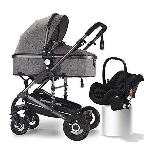 HELIn Cochecito de viaje: el asiento de bebé de seguridad ligero de aluminio es plegable, conveniente a prueba de viento, cómodo y transpirable Adecuado para niños de 0 a 6 años