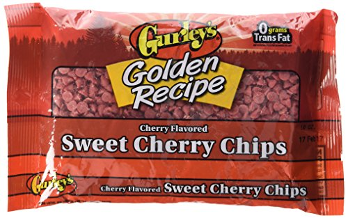 Gurley's Sweet Cherry Chips 10 oz. 2 BAGS