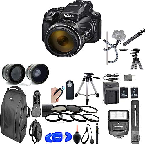 Nikon COOLPIX P1000 Digital Camera (Package 4)