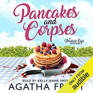 Pancakes and Corpses audiobook cover art