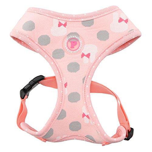 Pinkaholic New York Lapine Hundegeschirr, klein, Indian Pink