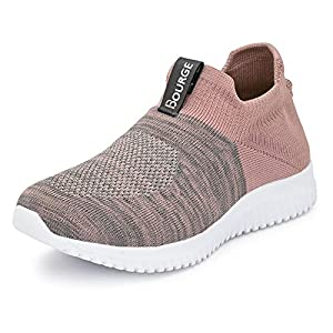 Bourge Women's Micam-z52 Walking Shoes