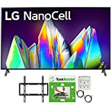 LG 65NANO99UNA 65 inch 8K HDR Smart LED NanoCell TV with AI ThinQ 2020 Model Bundle with TaskRabbit Installation Services + Deco Gear Wall Mount + HDMI Cables + Surge Adapter