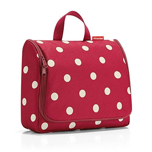 reisenthel toiletbag XL ruby dots Maße: 28 x 25 x 10 cm / Maße: 28 x 59 x 9 cm expanded / Volumen: 4 l