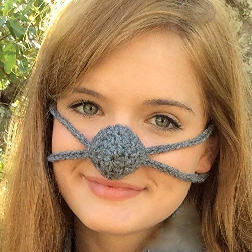 Dark Gray - Aunt Marty's Original Nose Warmer