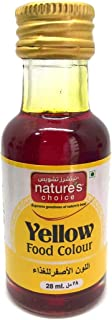 Natures Choice Food Colour, Yellow, 28 ml