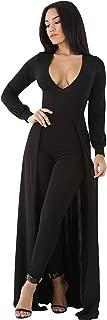 Women's Sexy Maxi Overlay Elegant Party Pants Skirt Clubwear Romper Jumpsuit
