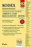 KODEX Studienausgabe Arbeits- und Sozialrecht 2019/20