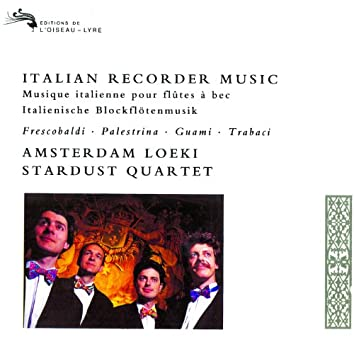 イタリア・バロック・リコ-ダ-曲集