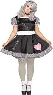 plus size broken doll costume
