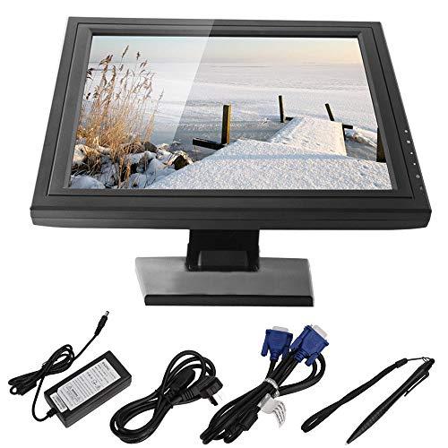 """OUKANING LCD Monito 17"""" Pantalla táctil VGA/USB LCD Monitor Restaurant Cafe Kassensystem Kiosk"""