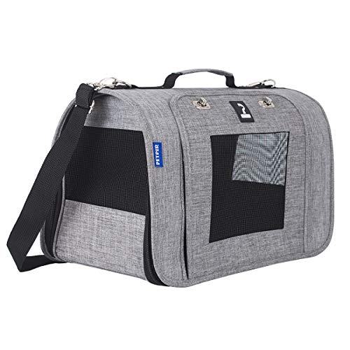 Petper CW-126 Pet Carrier Dogs Cats Soft Sided Carrier, Cat Carrying Handbag for Outdoor Travel...