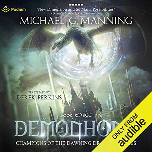 Demonhome Audiobook By Michael G. Manning cover art