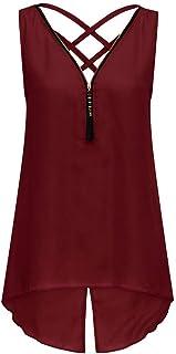 上着 Timsa トップス レディース インナーウェア 無地 無袖 2層 シフォンシャツ 透かし彫り バックレス Tシャツ 春夏 タンクトップ 女の子 インナーキャミソール 女性 T-shirt 通勤 通学 旅行 日常用 大きいサイズ