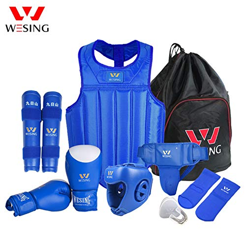Wesing Profesional Hombres Mujeres MMA Artes Marciales Boxeo Muay Thai Sparring Competition...