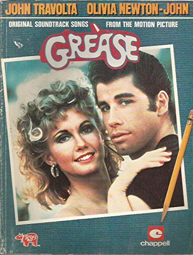 GREASE [ Tablatures / Partitions ]- Original soundtrack songs from the motion picture ( John Travolta / Olivia Newton-John ) par Chappell