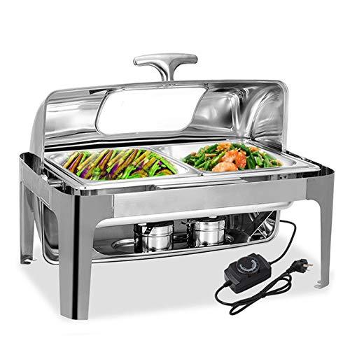 DBMGB Chafing Dish Calentador de Comida Electrico 9L Calient