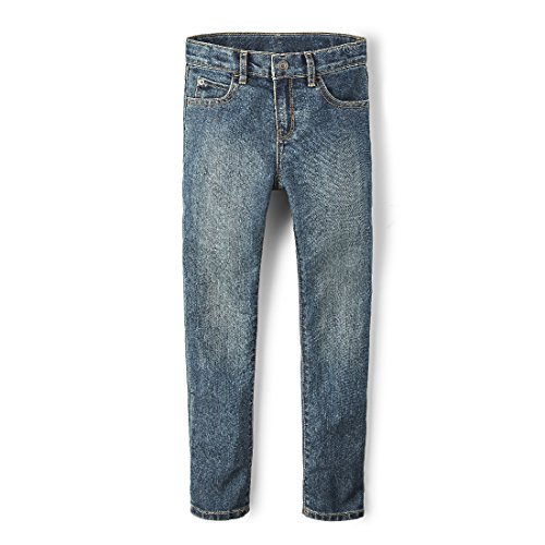 The Children's Place Big Boys' Skinny Jeans, Tide Pool, 12