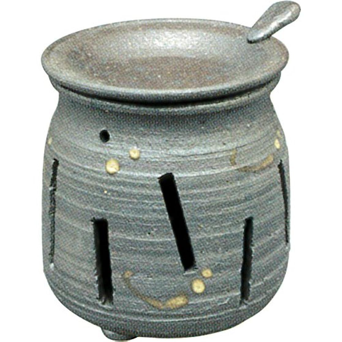 誇張人口のスコア常滑焼 : 焜清 茶香炉 ル36-05