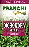 Franchi sementi DICHIONDRA REPENS - Semi per prato, Confezione da 250 grammi...