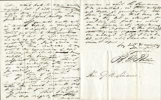 Benjamin Franklin Butler - Autograph Letter Signed 10/01/1833