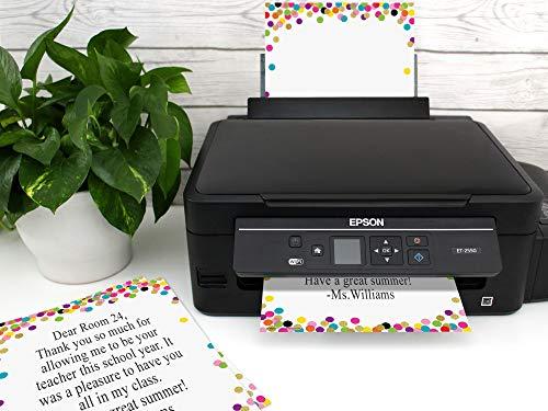 Confetti Computer Paper Photo #3