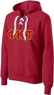 Phi Kappa Tau Lace up Pullover Hooded Sweatshirt