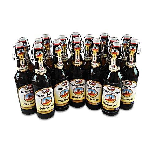 Hacker-Pschorr Münchner Hell (16 Flaschen à 0,5 l / 5,0% vol.)
