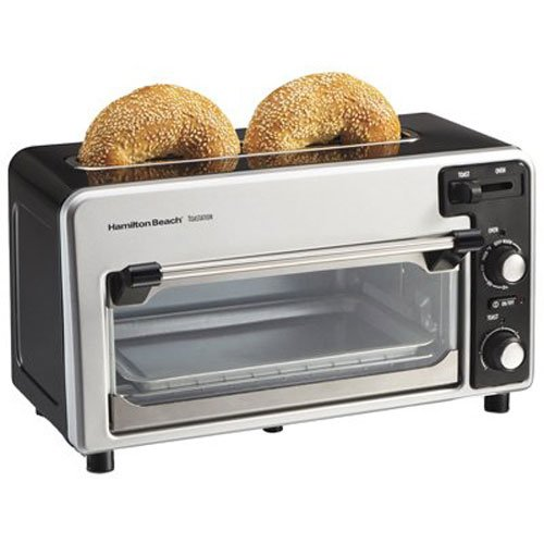 Hamilton Beach Toastation Oven with 2 Slice Toaster Combo, Ideal for Pizza, Chicken...