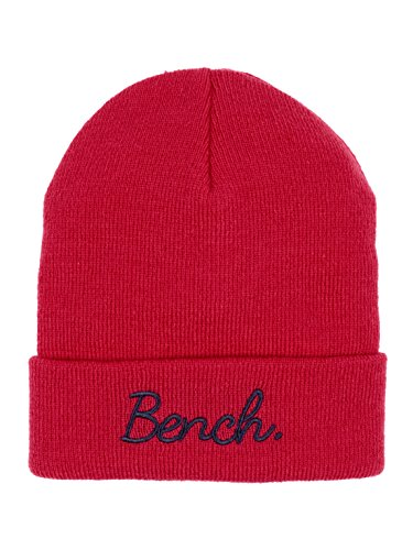 Bench Mädchen Turn UP Beanie Mütze, Rosa (Virtual Pink Pk103), M