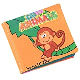 Fliyeong - Libro de tela para el desarrollo de la inteligencia de los niños y bebés, coñiz, libro, juguetes, animales prácticos y populares