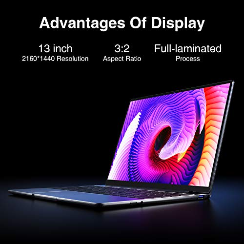 Product Image 1: CHUWI CoreBook Pro Windows 10 Laptop Computer, 13 inch 2K IPS Display, 8G RAM / 256GB NVMe SSD with Intel Core i3 Processor Notebook, Support PD Charge