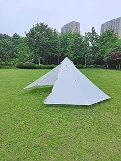 Ultralätt hett tält, 210T rivbart vattentätt tipi-tält, vikt endast 1,7 kg, perfekt för backpacking, camping, vandring
