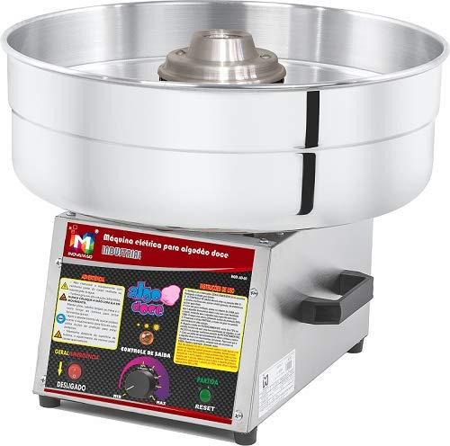 Máquina de Algodão Doce Industrial Digital Bivolt