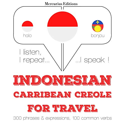 Indonesian – Carribean Creole. For travel cover art