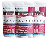 BEET'UMS - Great-Tasting Performance Chews - Get Your Beets on The go - Superfood - Nitric Oxide Supplement - Supports Stamina, Energy & Performance, Replace or Combine with Beet Root Powder (3 Packs)