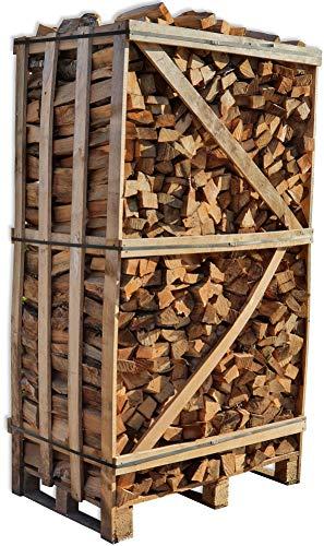 Brennholz Buche 25cm trocken Kaminholz ofenfertig Ofen Holz Feuerholz Scheitholz Kaminfeuer Lagerfeuer Pizzaofen 2RM Box=ca.2,4 Ster=ca.3SRM-m³=ca.900kg | Energie Kienbacher