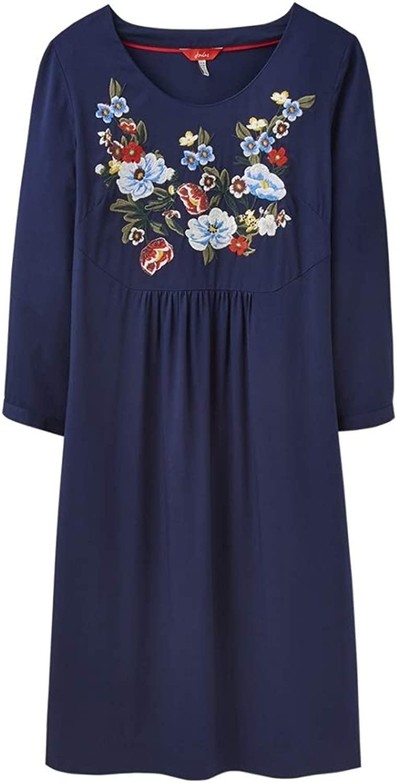 Joules Womens Alison  Long Sleeve Woven Dress