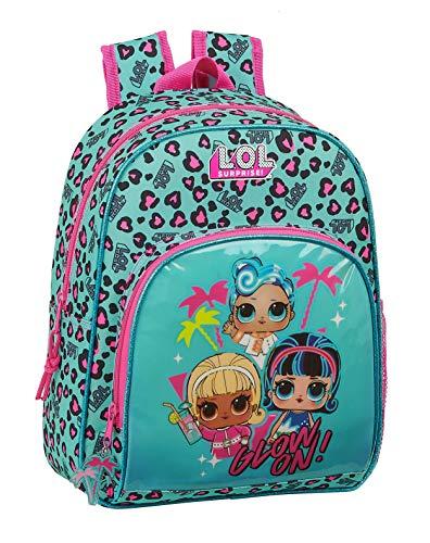 Safta 612047609 Mochila pequeña niña adaptable carro Lol