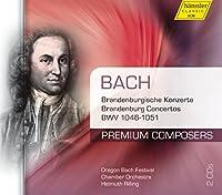 プレミアム・コンポーザーズ Vol.14 ~ J.S.バッハ: ブランデンブルク協奏曲集 (J.S.Bach : Brandenburg Concertos / Helmuth Rilling, Organ Bach Festival Chamber Orchestra) (2CD) [輸入盤]
