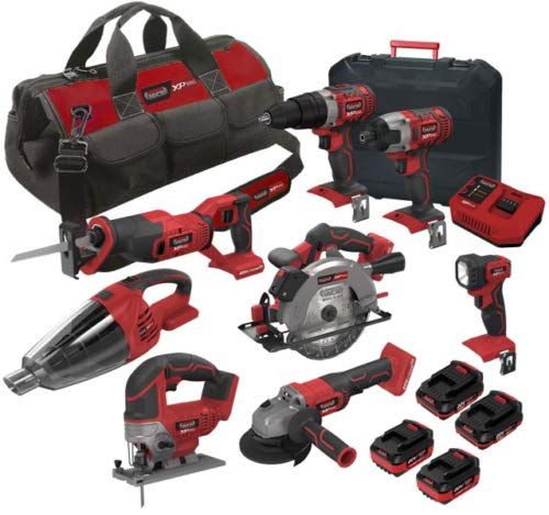 Lumberjack Tools XP8KIT Cordless Kit