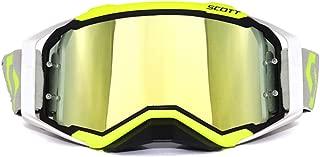 SMBYQ Motorcycle Goggles, Dirt Bike Motocross Tactical Goggles Anti-UV Wind Proof Dust Proof Anti-Scratch Bendable Eyewear Padded Soft Foam Riding Glasses,Black