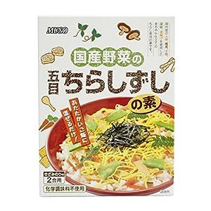 ムソー 国産野菜の五目ちらし寿司の素 2合用