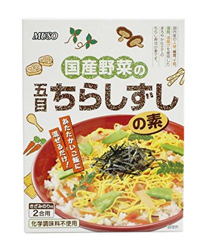 ムソー『国産野菜の五目ちらし寿司の素』