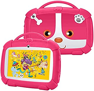 Kids Edition Tablet 7 inch, Kivors Android 9.0 Learning Tablet with Child Lock Mode, IPS Touch Screen, Dual Camera WiFi, S...